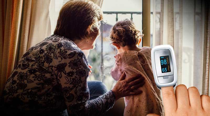 Pulsioximetro para uso en casa
